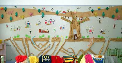 幼儿园春天环境布置墙面:春季万物生